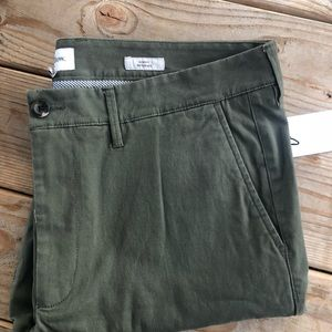 Goodfellow & CO Pants - Goodfellow & CO skinny chino olive pants 33X30